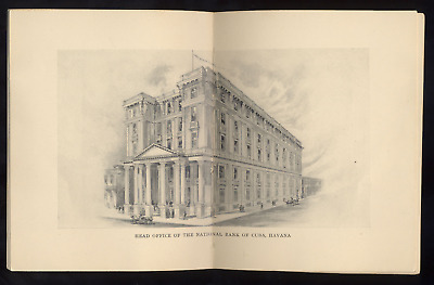 ⭐️⭐️  Vtg Booklet The National Bank Of Cuba New York Broadway & Wall Street ⭐️⭐️