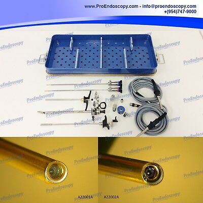 Olympus Set of 2 Cystoscopes w/ Assorted Instruments