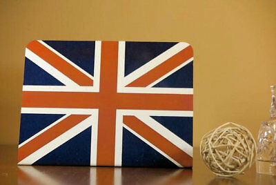 "British Flag _Metal_  Tabletop Display. 6"" x 8""."