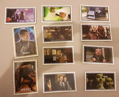 Merlin stickers Dr Who x11