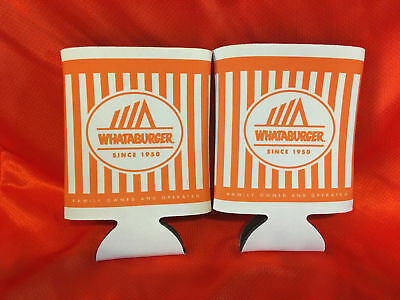 2 Whataburger Koozies-Beverage holders- New-Several available-LOT