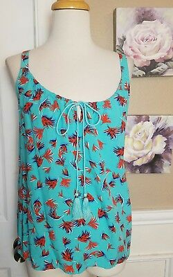 Cabi 5230 Tassel Tank Top Size XS Extra Small NWOT