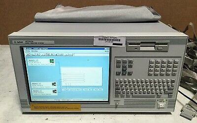HP Agilent 16702A Logic Analyzer OPT 003 8ZE, 1x 16717A 2x 16720A