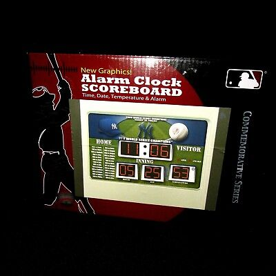 New York Yankees Scoreboard Desk Alarm Clock