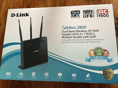 Modem Router - Dlink TalkBox 2800
