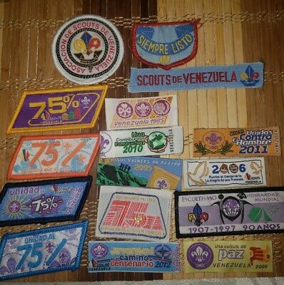 Boy Scouts Venezuela International lot (vintage)