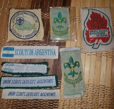 Boy Scouts Argentina International lot (vintage)