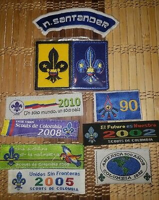 Boy Scouts Colombia International lot (vintage)
