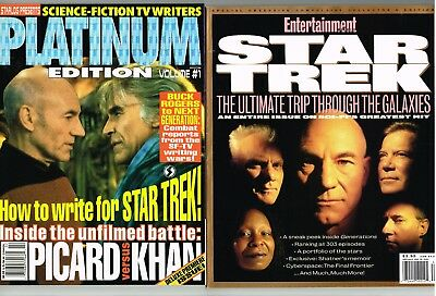 Star Trek Movie Mag Lot Entertainment 1995 Starlog Platinum Edition #1 1993