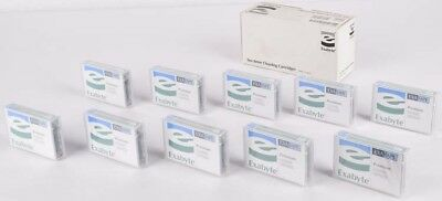 NEW Lot of 10 Exabyte EXATAPE Premium 8mm Drive Cleaning Cartridge Units