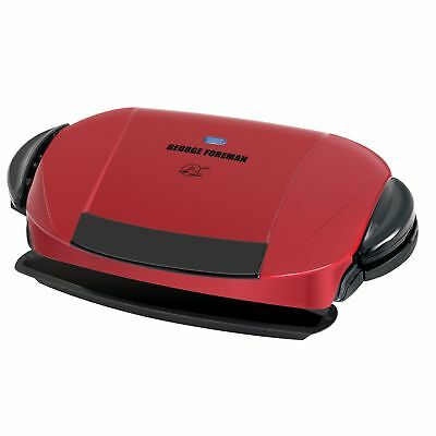 George Foreman 5-Serving Removable Plate Electric Indoor Grill and Panini Press,
