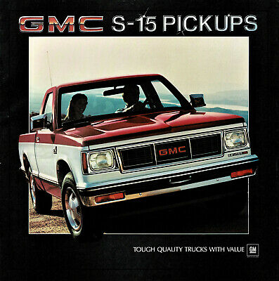 1984 GMC S-15 Pickup Truck Brochure Sierra/Gypsy/Jimmy