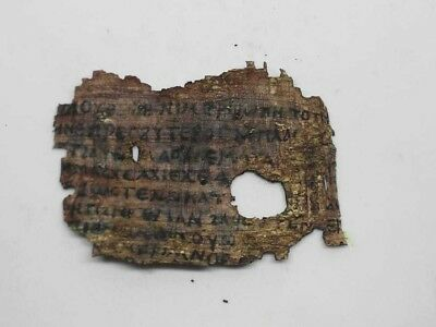 Amazing rare Coptic Egyptian papyrus in Greek or Latin