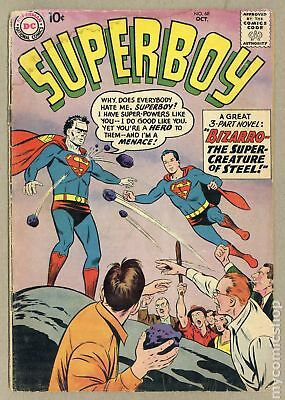 Superboy (1st Series DC) #68 1958 GD- 1.8