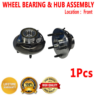 FRONT WHEEL HUB Bearing Assembly For DODGE RAM 1500 4WD 4 Wheel ABS RWD
