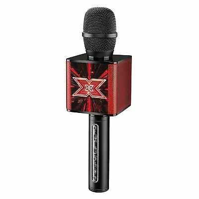 The X Factor Bluetooth Karaoke Microphone Speaker LED Echo Voice Changer XF2 Mic