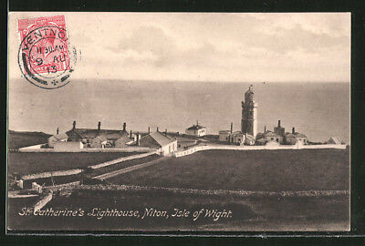 Ansichtskarte Isle of Wight, Niton, St. Catherine´s Ligfhthouse, Leuchtturm 191