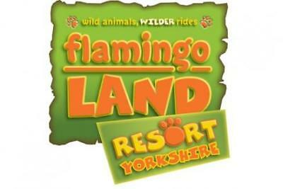 Flamingo land 3 for 2 Ticket Valid Until NOV  4TH 2018 Save £40 Bargain 3 for 2