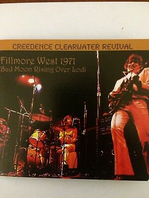 Creedence Clearwater Revival ‎– Fillmore West 1971: Bad Moon Rising Over Lodi cd