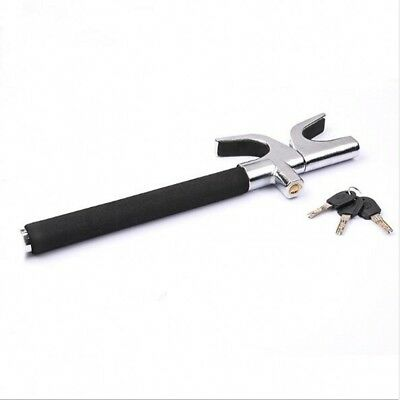 1x Steering Wheel Lock Anti Theft Security System Car Adjustable Telescopic Lock