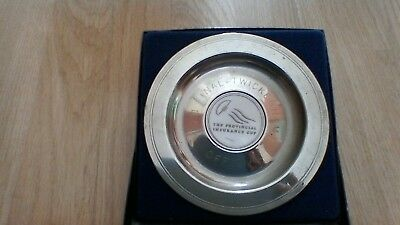 1991 Provincial Insurance Cup Final Official Commemorative Plate-Boxed