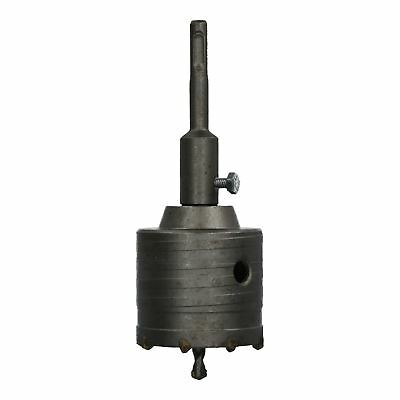 65mm Metric Core Drill With SDS Arbor And Pilot Drill Brick Stone Block Cutter
