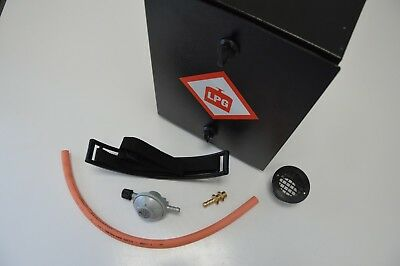 Gas Safe Locker Box Complete Kit 907 Camping Gas Removable Front Race Campervan