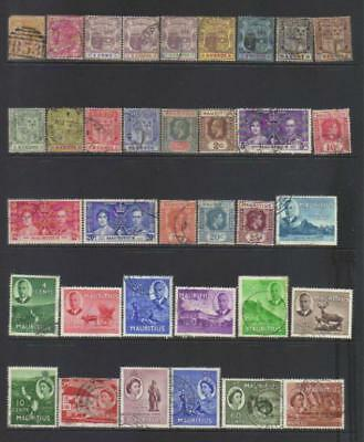 Mauritius 1879-1953 Used Selection Cat £30+