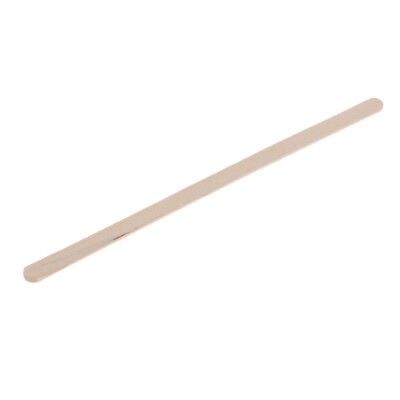100x 140mm Disposable Wood Coffee Stirrer for Hot Cold Drinks Beverage 5.5''