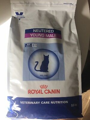 Croquettes Veterinary Care Neutered Young Male pour Chat - Royal Canin - 3,5Kg