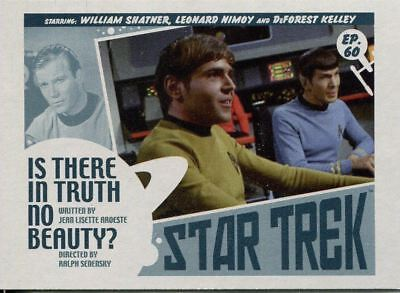 Star Trek TOS Captains Collection Lobby Chase Card #60 Is There in Truth No Bea