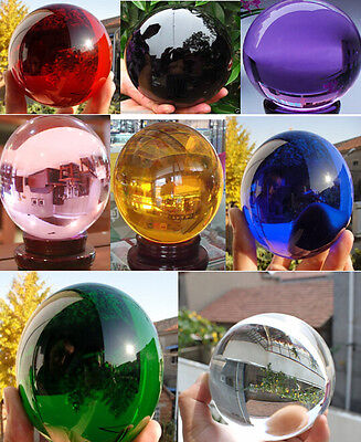 Magic Very clear 40-100mm Round Glass Crystal ball Sphere Buyers select the size