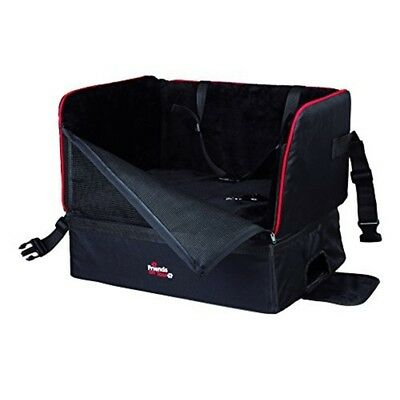 Trixie Friends On Tour Dog Car Seat 45 x 38 x 37cm Up To: 8kg -cm Black Travel