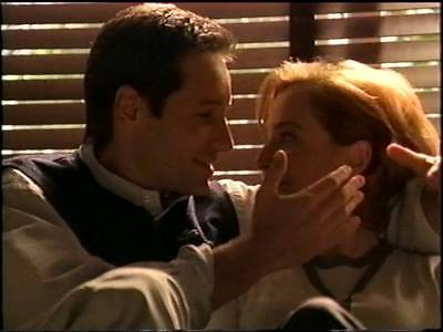 X-Files Dailies Outtakes David Duchovny Gillian Anderson