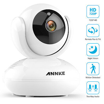 "ANNKE Wireless 2.4"" Screen Baby Monitor IR Security IP Camera WIFI Two-Way Audio"