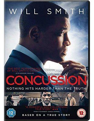 Concussion [DVD] [2016], DVD, New, FREE & Fast Delivery