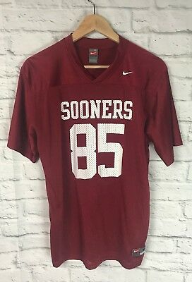 save off ebbfb 35d99 OKLAHOMA SOONERS #85 Football Nike Jersey Youth Size XL 20 ...