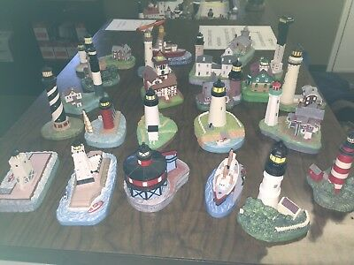 spoontiques lighthouse set of 23 great condition