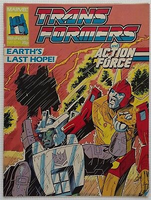 Transformers UK Comic Issue 204