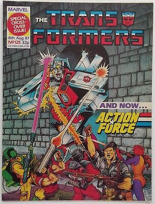 Transformers UK Comic Issue 125