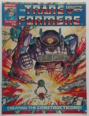Transformers UK Comic Issue 35