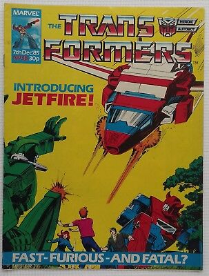 Transformers UK Comic Issue 38