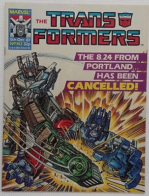 Transformers UK Comic Issue 142