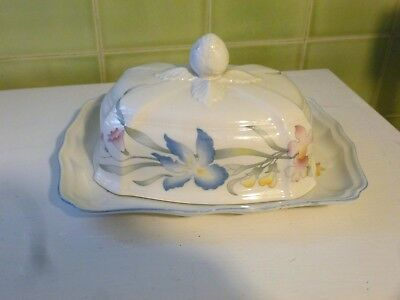 Villeroy & Boch Covered Butter Dish - Riviera Pattern - Luxembourg