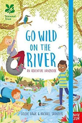 National Trust: Go Wild on the River, Excellent Condition Book, Goldie Hawk, ISB