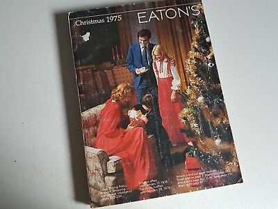 Vintage Eatons Canada Catalog Catalogue 1975 Christmas Toys Clothes Department S