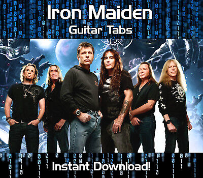 Iron Maiden Rock Guitar Tab Tablature Download Song Book Software Tuition