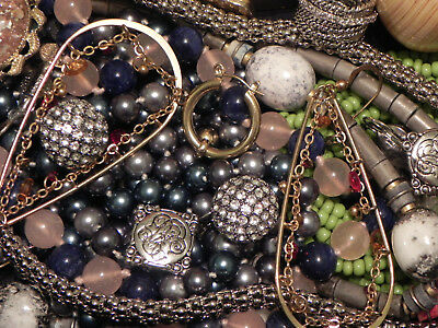Estate Sale Lot of Vintage to Modern Jewelry, Untested, Some Signed #640