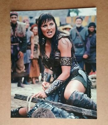 Xena Lucy Lawless 8x10 photo XE-LL209 Not a Reprint Original Creation Ent.
