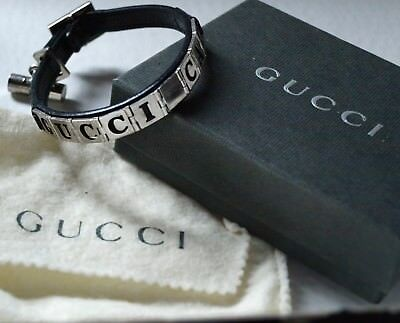 Tom Ford for GUCCI PET CAT Collar leather  silver letters namebarrel100%Genuine